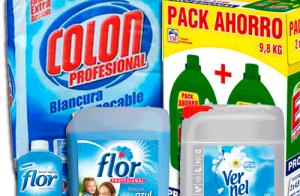Oferta Enero en Detergentes y Suavizantes