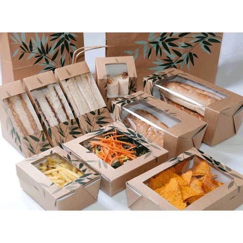 Tipos de envases para comida para llevar