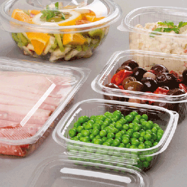 Envases Plástico PET con Tapa
